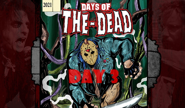 Days of the Dead Indianapolis 2021 Day 3 Recap: Winding Down with Taylor, Living Dead, Two Tonys and More!