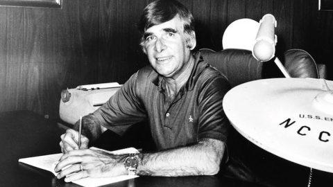 Star Trek creator Gene Roddenberry