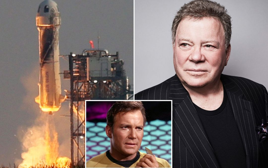 William Shatner and Blue Origin's Audrey Powers to fly on New Shepard's 18th mission