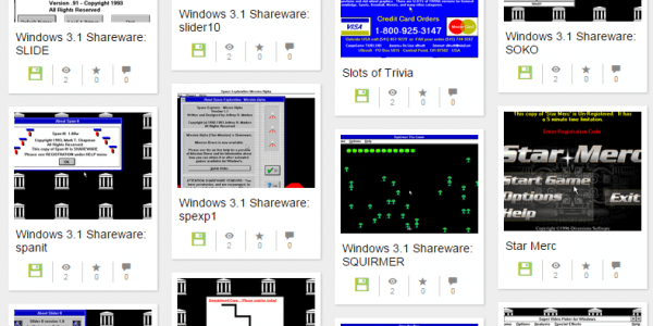 Windows 3.1 programs