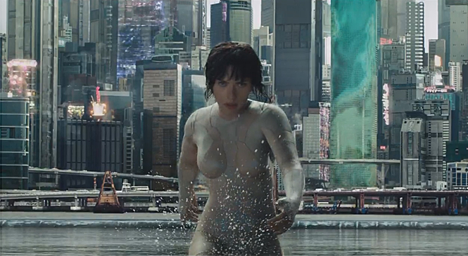 New GHOST IN THE SHELL Teaser