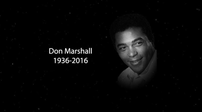 RIP Don Marshall, Longtime Genre TV Performer