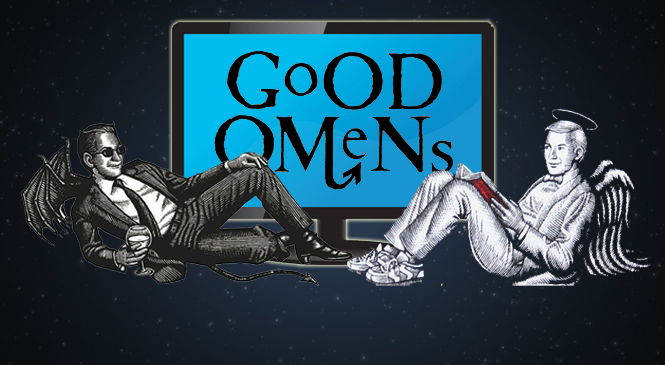 Apocalyptic GOOD OMENS Coming to Amazon and BBC