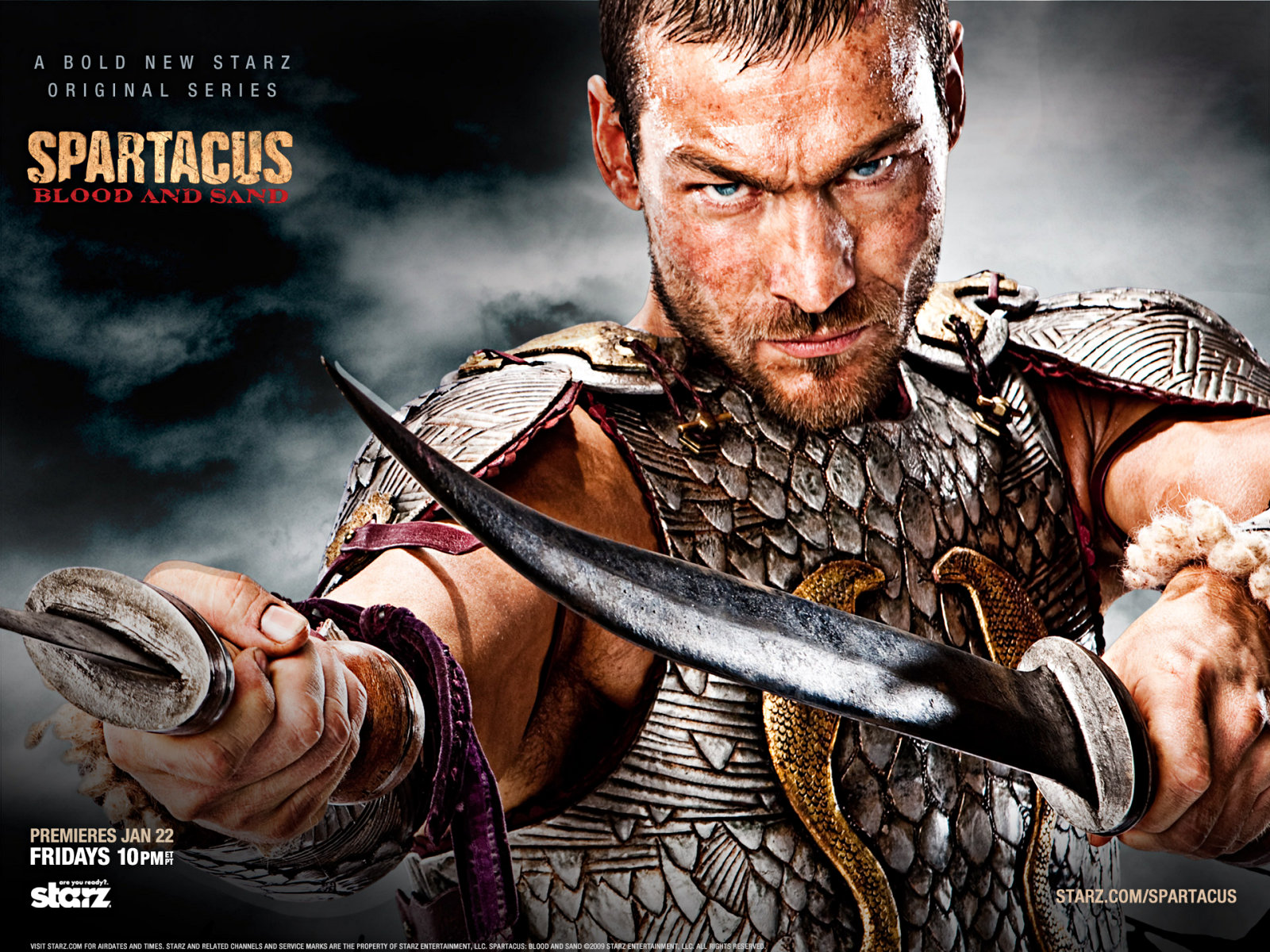 Spartacus Blood and Sand Wallpapers  SciFi BloggersSci