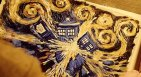 Van Gogh painted the TARDIS exploding.