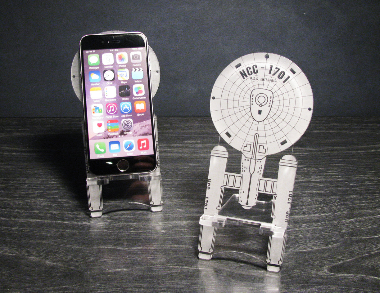 Star Themed Gift Awesome Sci-fi Smart Phone Stands - Sci-fi Design