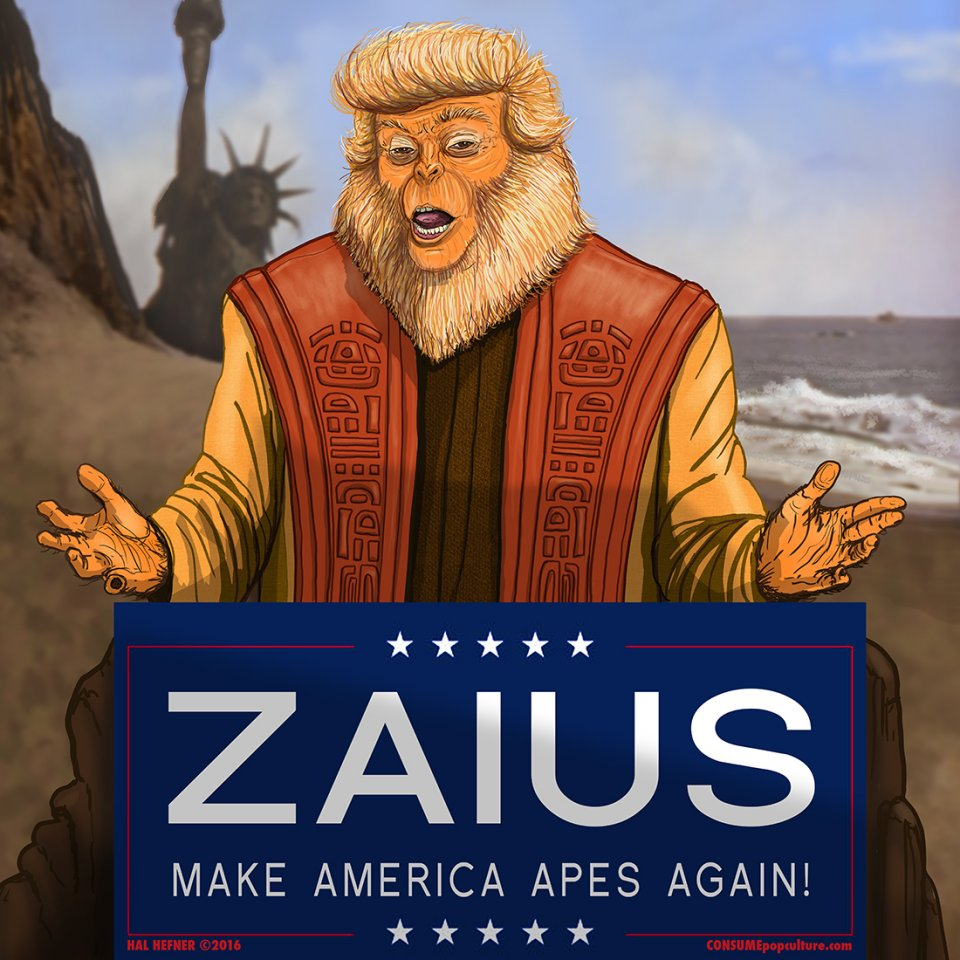 Image result for dr zaius trump