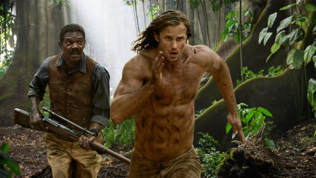 Alexander Skarsgard and Samuel L Jackson in The Legend of Tarzan. Credit: variety.com