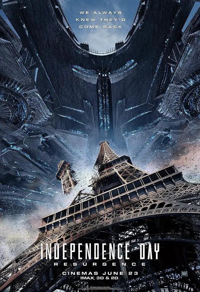 Godzilla Resurgence Sub Indo : godzilla, resurgence, Independence, Resurgence, Poster, Paris, Image, Gallery