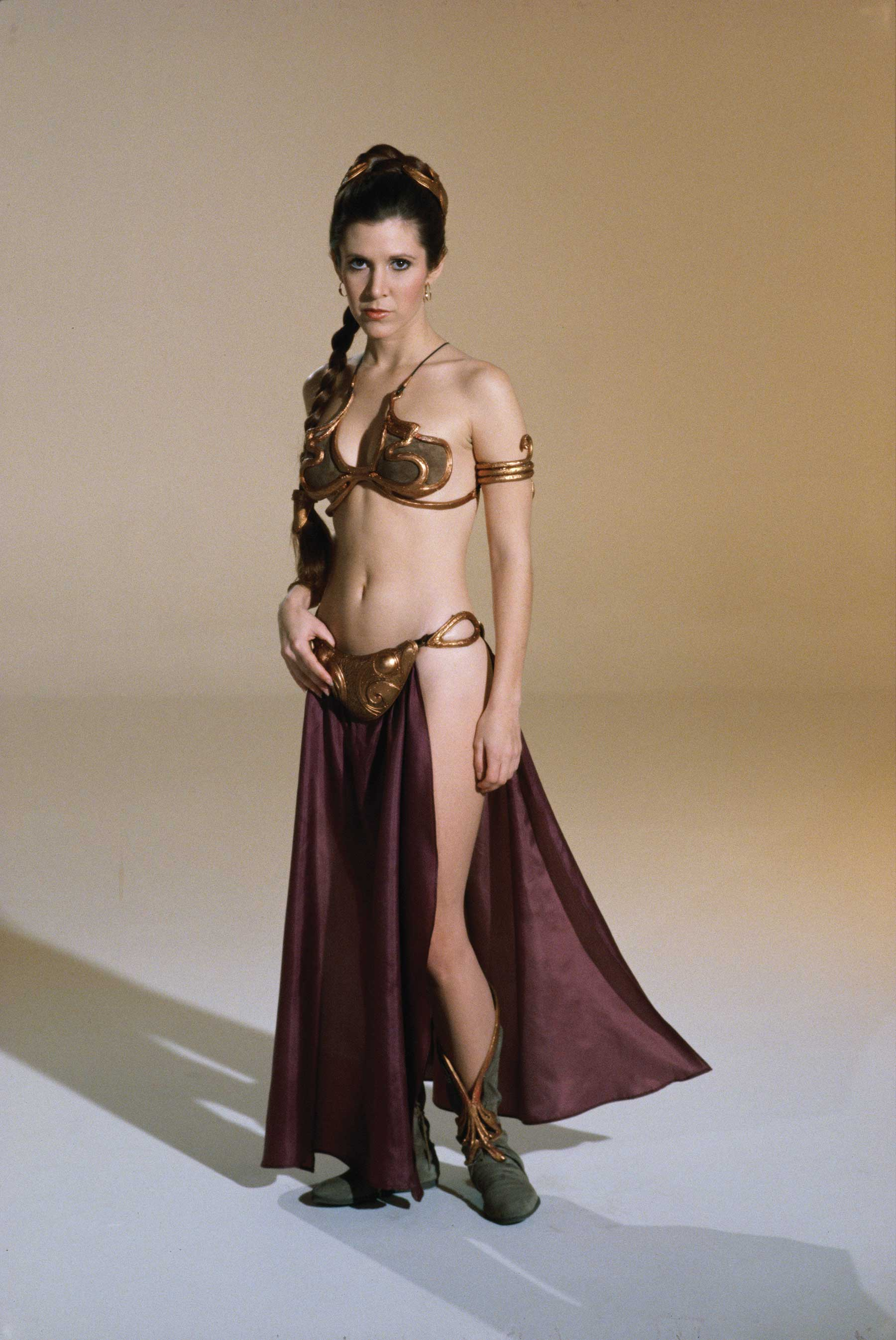 Very valuable carrie fisher princess leia slave opinion