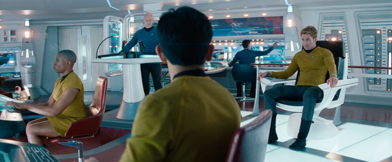 New Star Trek TV series - woman in skirt uniform