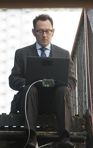Michael Emerson as Harold Finch In Person of Interest season 3 Liberty