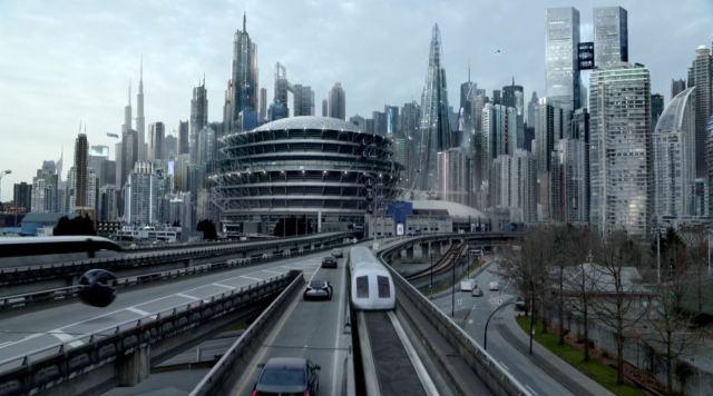Almost Human - 2048 future city