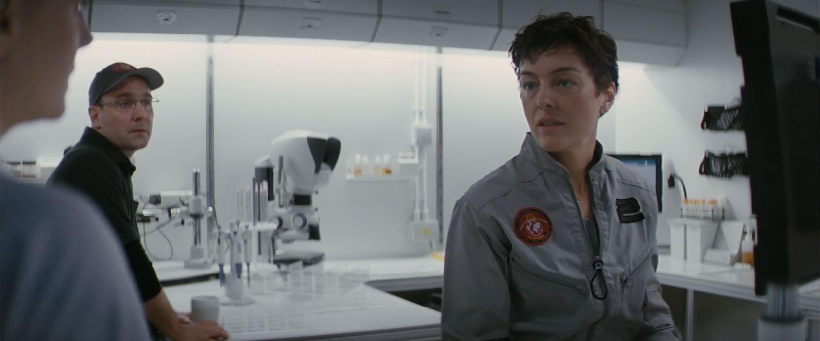 Olivia Williams as Kim Aldrich in The Last Days On Mars