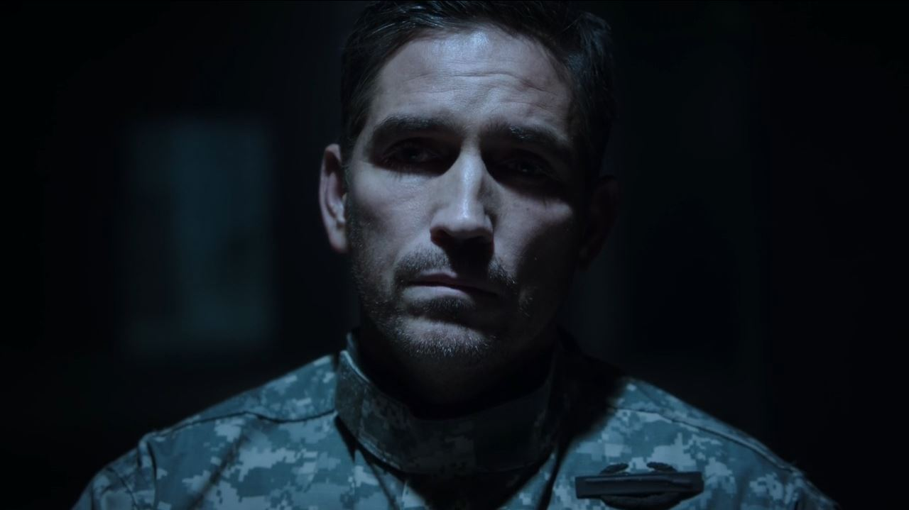 Person of Interest - The Devil's Share - Mr. Reese (Jim Caviezel) as a green beret
