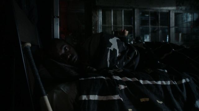 Elementary - Internal Audit - Alfredo being awoken by Sherlock trying to steal his car