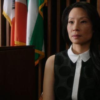 Elementary - Tremors - Lucy Liu as Joan Watson in court