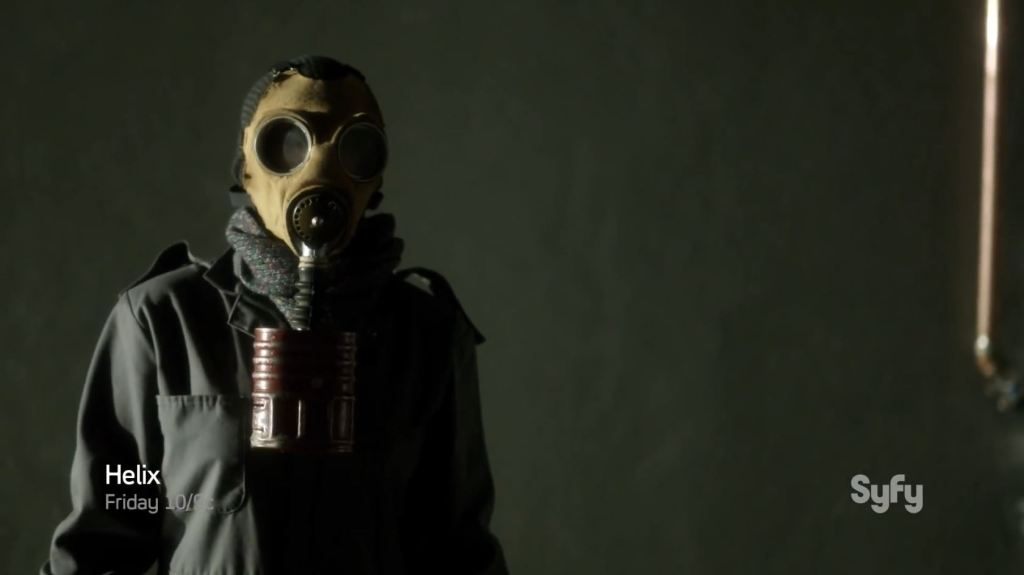 Helix - Single Strand - Man in the gas mask