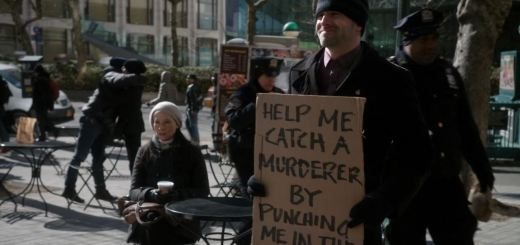 Elementary S2E19 The Many Mouths of Aaron Colville - Sherlock with sign help me catch a murderer