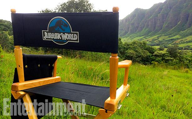 Jurassic World set picture - jungle panorama