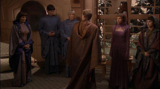 Enterprise season 4 Blu ray review - T'Pol wedding