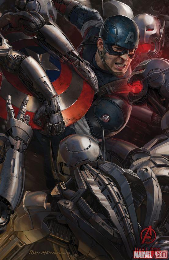 Avengers Age of Ultron Captain America Chris Evans - www.scifiempire.net