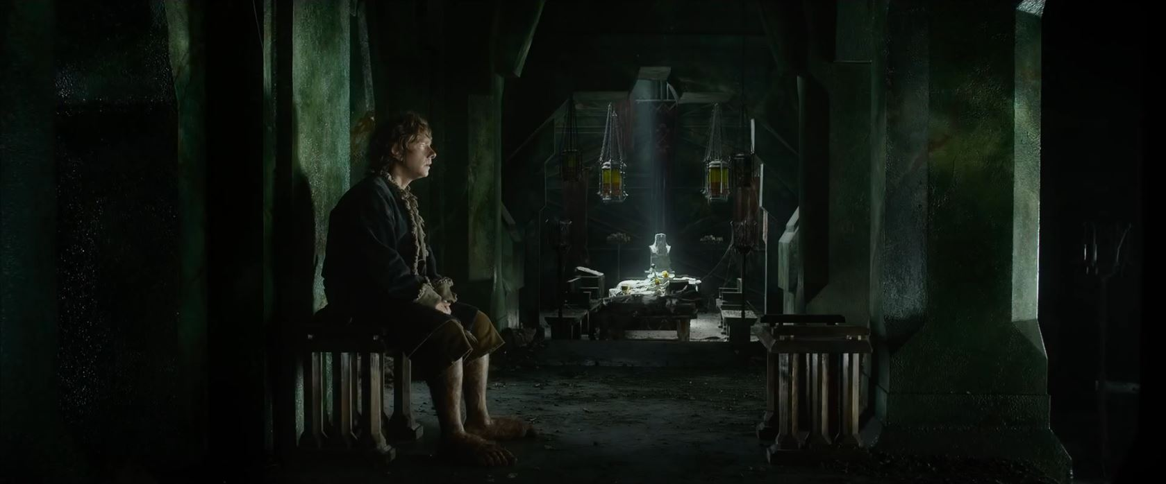 The Hobbit The Battle of the Five Armies Trailer - Martin Freeman as Bilbo Baggins
