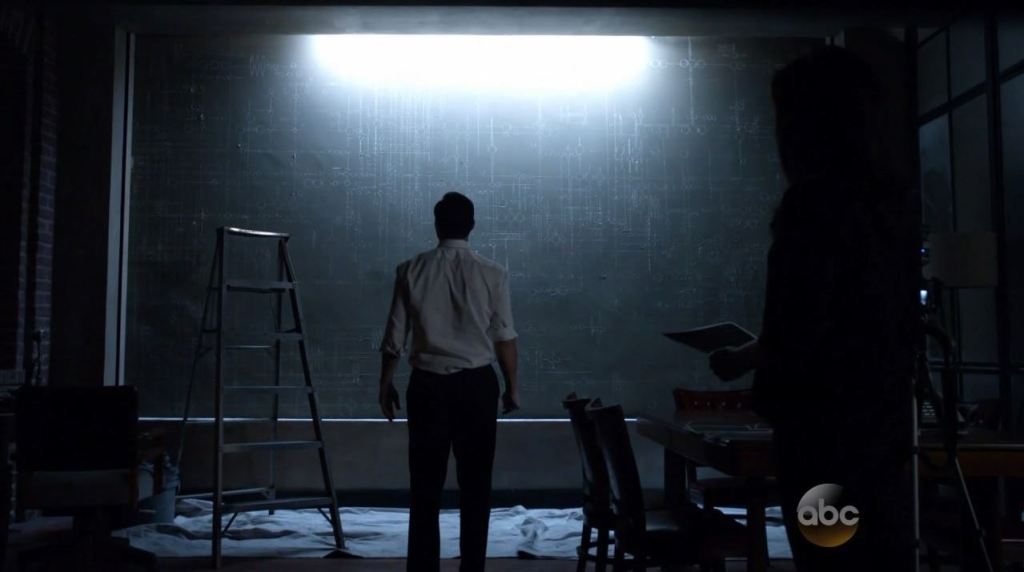 Agents of SHIELD S2Ep2 Heavy Is the Head Review - Coulson making drawings