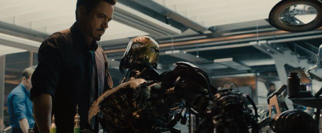Avengers Age Of Ultron Trailer Released - Stark investigates old Iron man suit