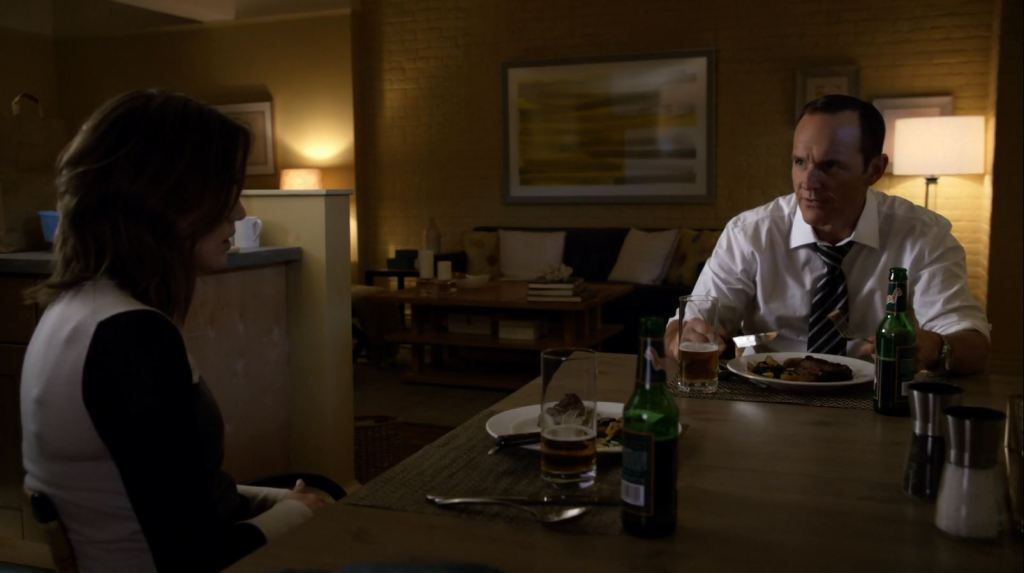 Coulson visits Simmons - Agents of SHIELD S2Ep3 Making Friends and Influencing People Review