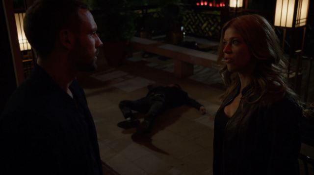 Hunter and Morse arguing - Agents Of SHIELD S2Ep6 A Fractured House Review