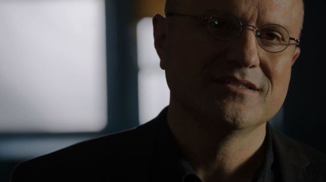 Carl Elias warns Dominic. Person of Interest S4Ep9 The Devil You Know Review