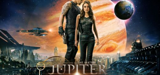 Jupiter Ascending Preview poster starring Mila Kunis and Channing Tatum