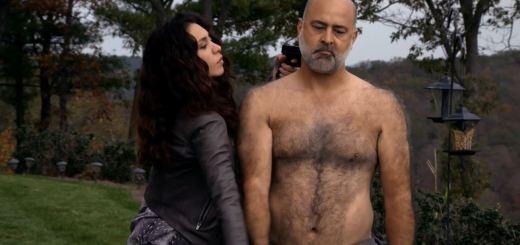 Mozhan Marnò as Samar Navabi capturing Hassan - The Blacklist S2ep7 The Scimitar Review