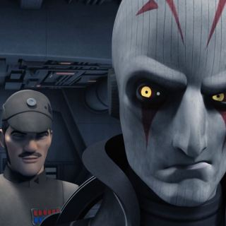 The Inquisitor recieving information. Star Wars Rebels Gathering Forces Review