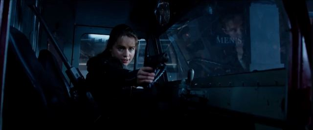 Sarah Connor played by Emilia Clarke in Terminator Genisys