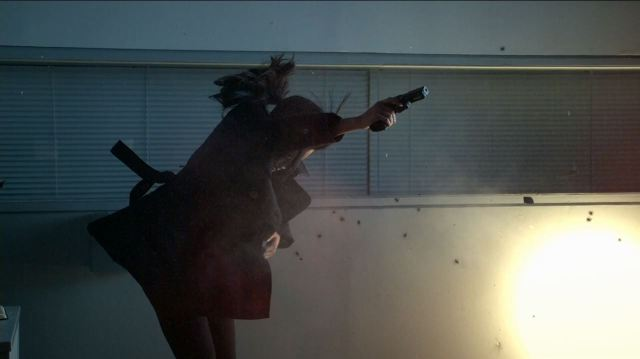 Person of Interest S4Ep11 If-Then-Else Review - Sameen Shaw gets shot (Sarah Shahi)