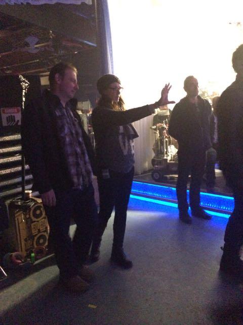Amanda Tapping directing Dark Matter. Syfy Dark Matter Preview
