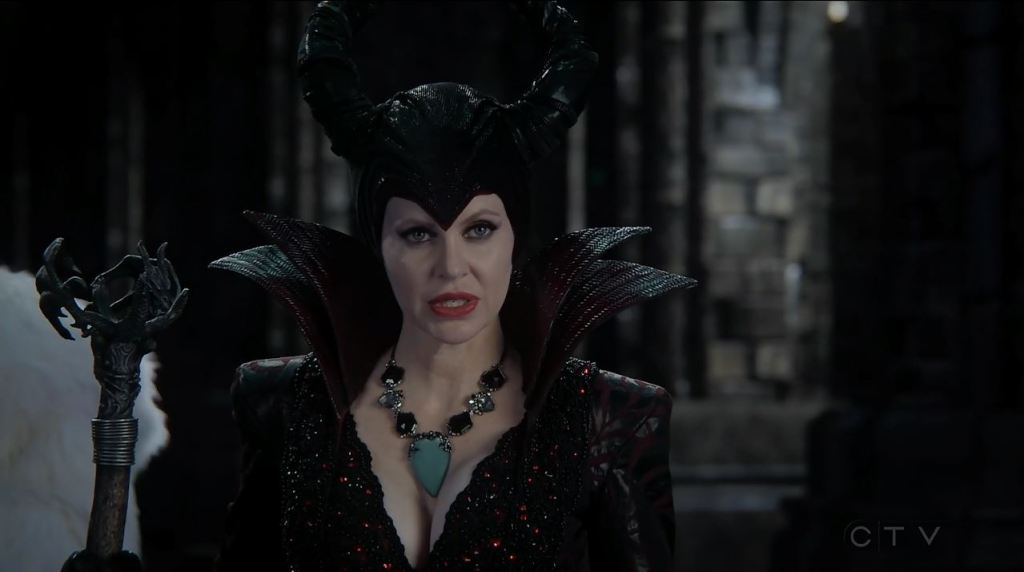 Kristin Bauer van Straten as Maleficent. Once Upon a Time Review
