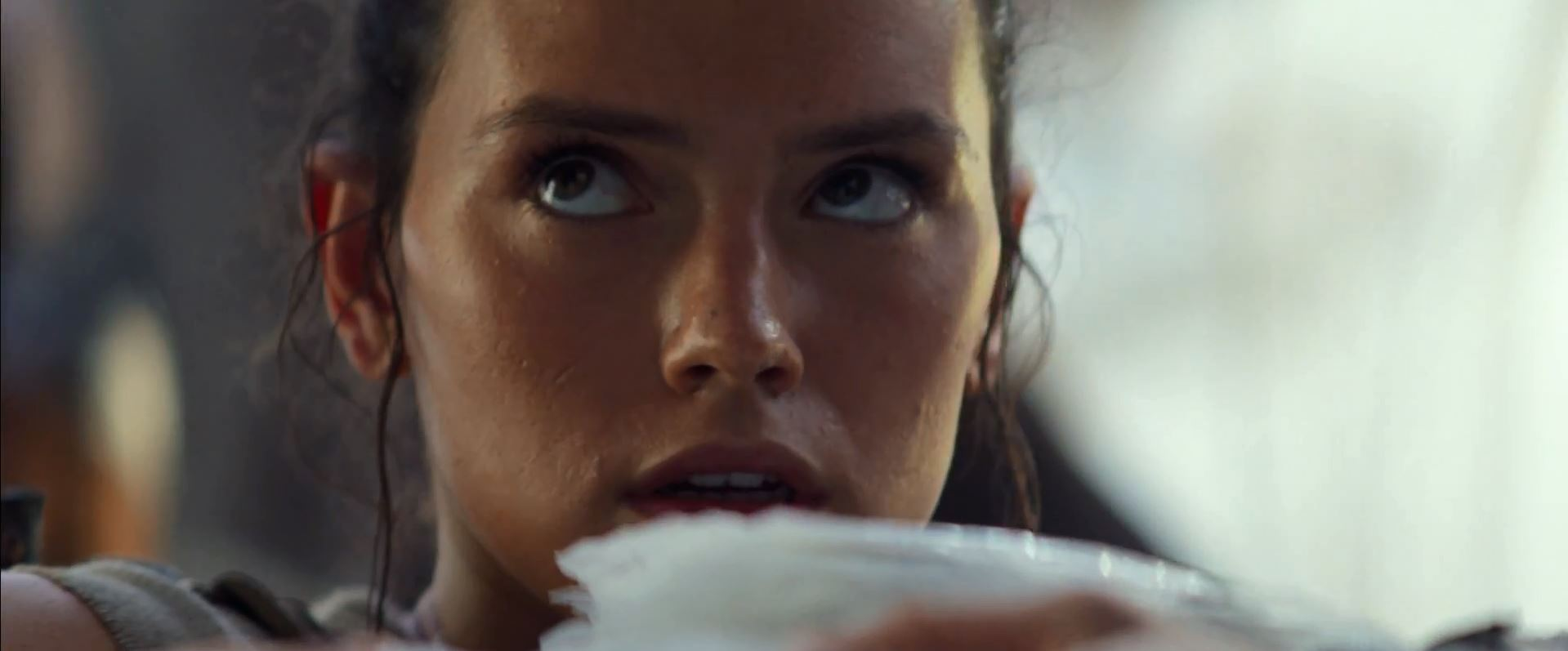 Daisy Ridley as Rey. New Star Wars The Force Awakens Trailer Released!