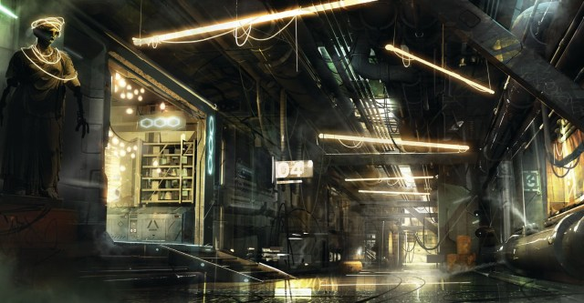 Deus Ex Mankind Divided trailer and screenshots revealed. Mankind Divided concept art.