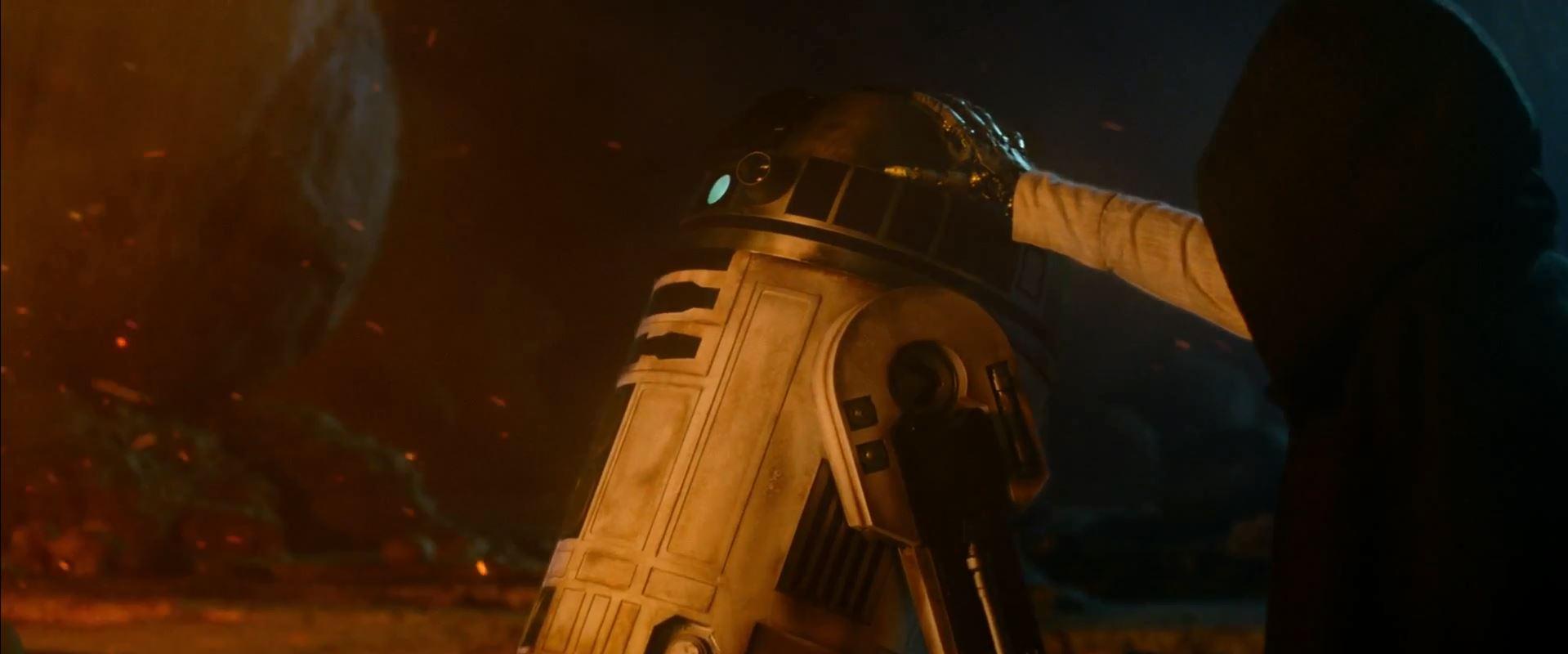 Luke Skywalker and R2D2. New Star Wars The Force Awakens Trailer Released!