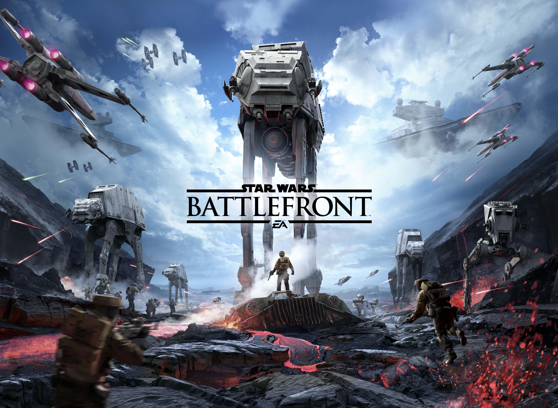 Star Wars Battlefront poster art