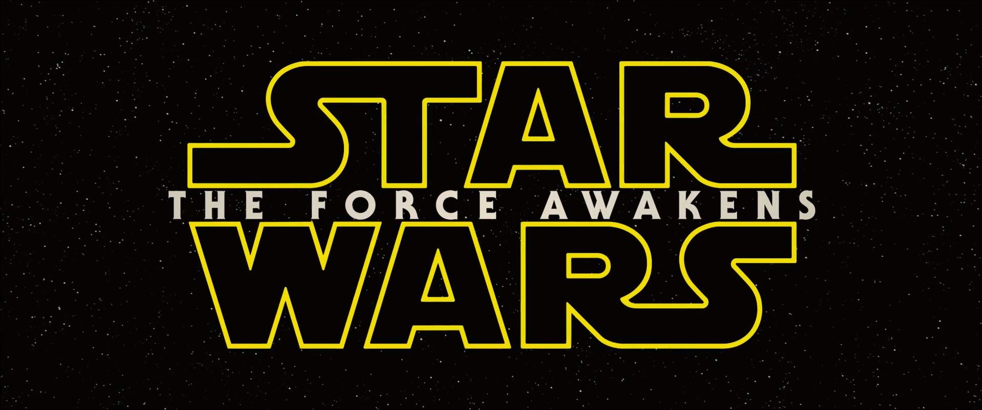 The Force Awakens title poster. New Star Wars The Force Awakens Trailer Released!
