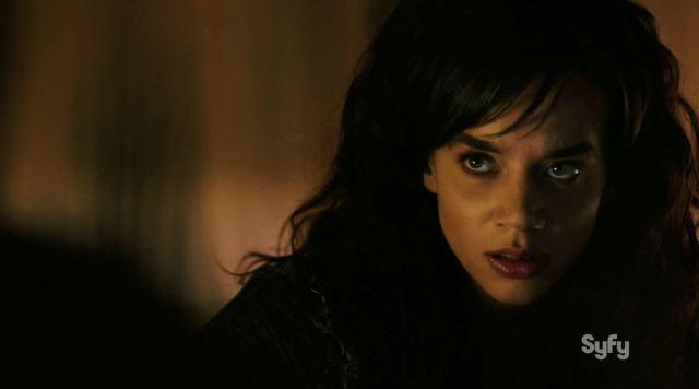 Killjoys Premiere - Hannah John-Kamen as Dutch
