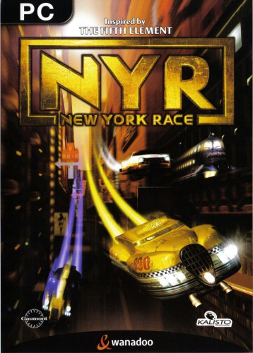 New York Race Game - The Fifth Element - PC cover