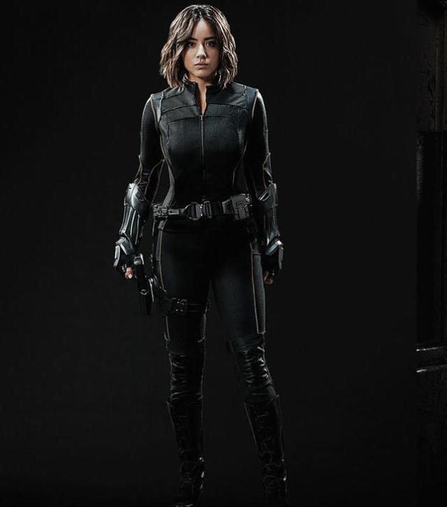 Agents of SHIELD Season 3 Preview Chloe Bennett as Quake (Skye)