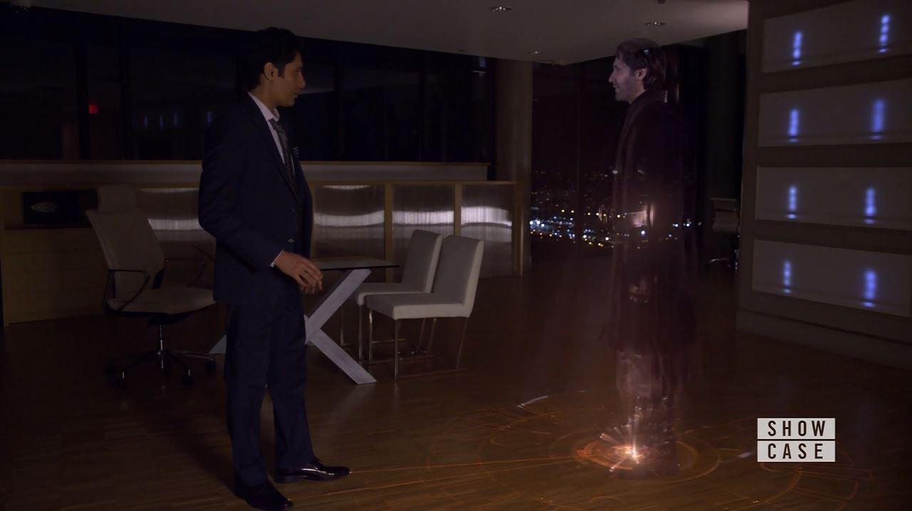 Kellog Meets his future self. Continuum Season 4 Premiere Review
