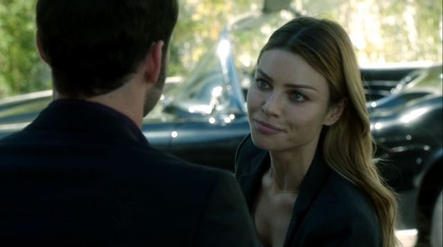 Lauren German as Chloe Decker. Lucifer