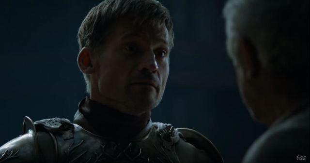 Game Of Thrones Season 6 Preview. Jaime talks to the sparrow.
